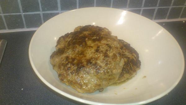 Köttfärsbiffar - 4 portioner